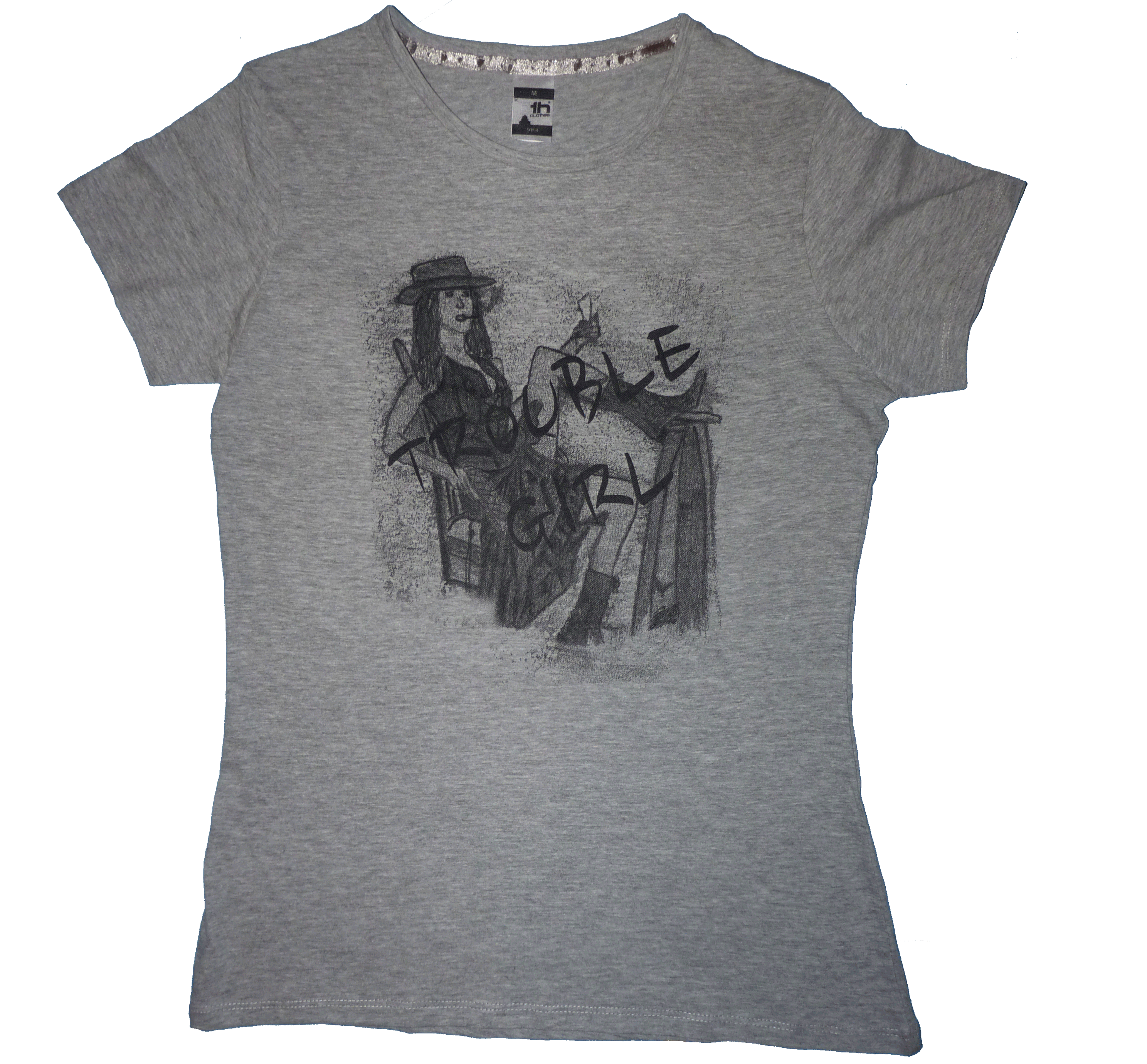 Trouble Girl T-Shirt (Female)